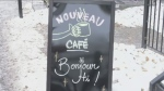 A new cafe named after the traditional Montreal bilingual greeting of bonjour/hi has opened – and not everyone is amused.