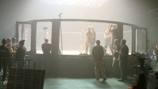 Stars in Regina shooting MMA themed movie