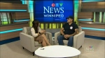 Maralee talks with Bear Clan Patrol's James Favel about what is needed to continue offering fresh food to the Point Douglas community. (Source: CTV News Winnipeg)