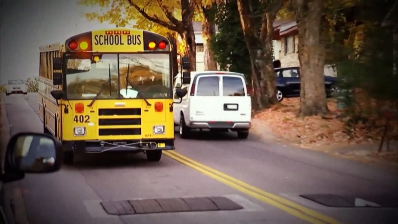 On Monday, the MLA for Chilliwack-Kent, Laurie Throness, introduced an amendment that would require seatbelts on all new school buses in B.C. after September 2021. (File image)