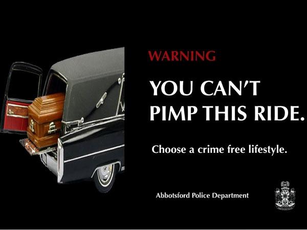 Anti Gang Posters Mimic Health Canada Warnings Ctv News