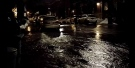 A water main break in NDG flooded several streets. (Video and picture: Rebecca Hicks)