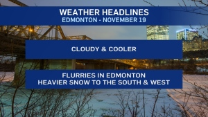 Nov. 19 weather headlines