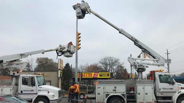 Power restored after outage impacts thousands in Windsor-Essex - CTV News Windsor