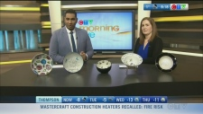 Signed bowls raising funds for Winnipeg Harvest