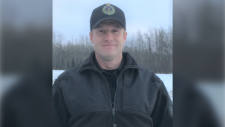 Blake Parker is shown in a photo provided by the provincial government.