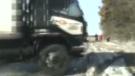 Dramatic close call caught on police dashcam