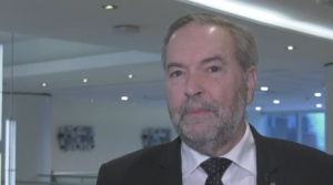 Former NDP leader Tom Mulcair