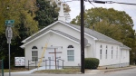 This Nov. 19, 2019 photo shows the Bethel African Methodist Episcopal Church in Gainesville, Ga. (Nick Bowman/ Gainesville Times via AP)