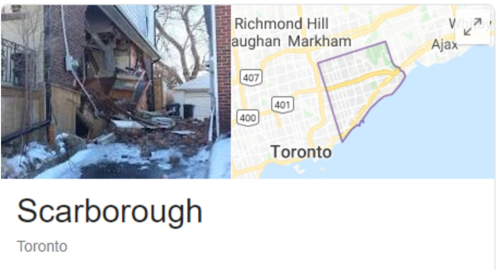Unflattering image of Scarborough removed from top photo on Google