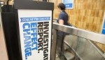 A StarMetro newspaper stand is shown at a subway station in Toronto on June 28, 2018. THE CANADIAN PRESS/Doug Ives