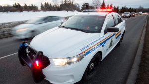 An RCMP cruiser is seen in a file photo.