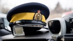 RCMP stopped a vehicle with an unregistered licence plate on Jan. 17 and discovered that the driver was prohibited from driving in Canada and arrested him. (File photo)