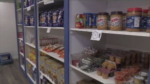 File image of a food bank.