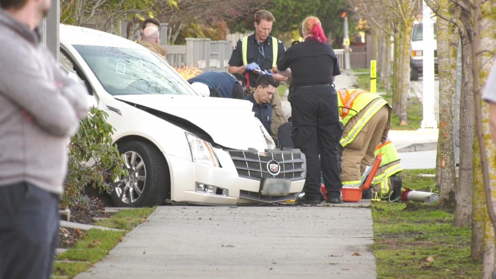 Crash in Richmond