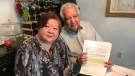 Abdul Gafoor and Katherine Hsu were stranded in Alaska after their cruise ship left without them. (Pat Foran/CTV News Toronto)