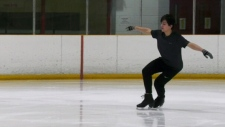Figure skater moves to Winnipeg from Middle East