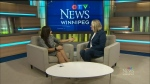 Maralee talks inspiration with Michelle Lalonde, a local business owner of Tiber River Naturals, on Woman's Entrepreneurship day. (Source: CTV News Winnipeg)