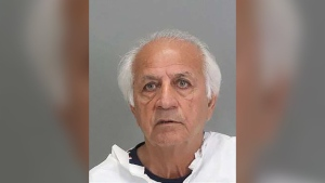 Ali Mohammad Lajmiri, 76, is accused of molesting a 13-year-old girl while she walked her dog in San Jose, California. (San Jose Police Department/CNN)