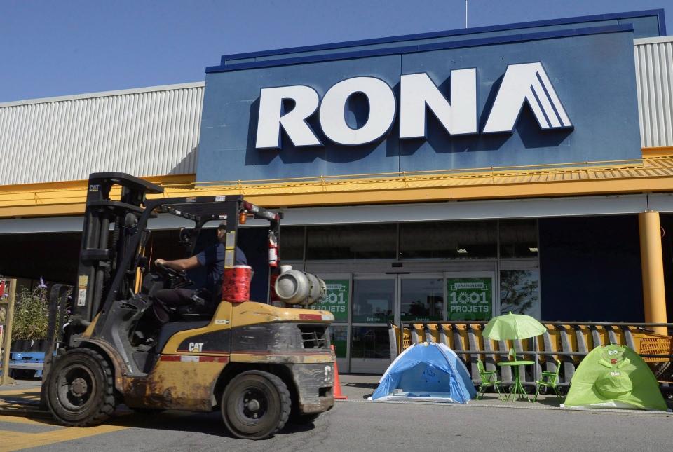 Rona stores closing in Quebec