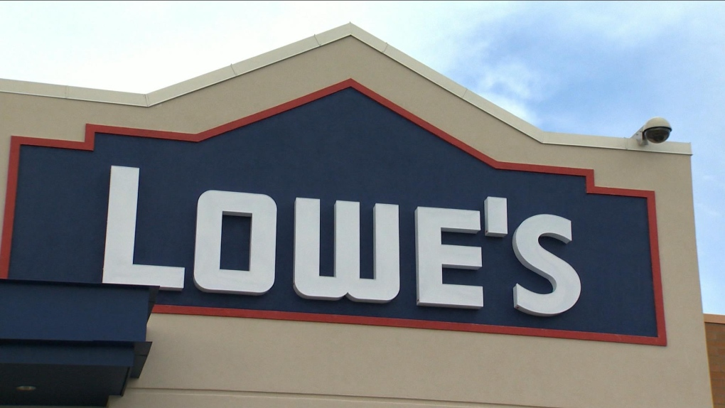 Lowe's says it will close 34 underperforming stores across six provinces