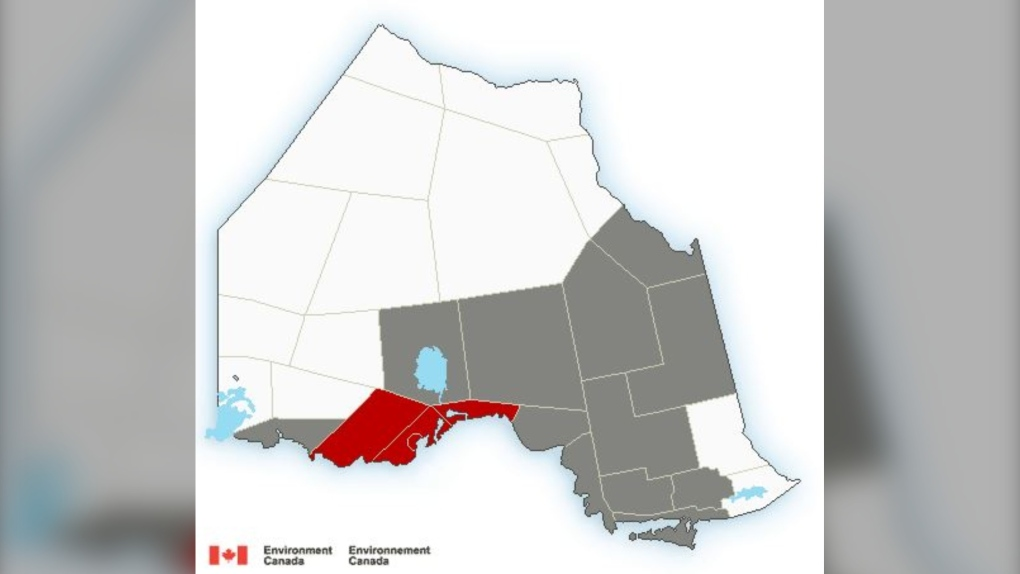 Fog, possible freezing drizzle, and significant snow expected across northern Ontario Wednesday