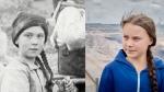 Greta Thunberg time traveler conspiracy