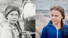 Greta Thunberg time traveler conspiracy