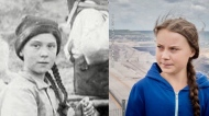 Greta Thunberg time traveller conspiracy