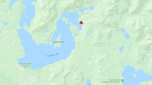 The B.C. Transportation ministry is currently assessing the blockage. Another update on road conditions in the area is not expected until Thursday morning. (DriveBC)
