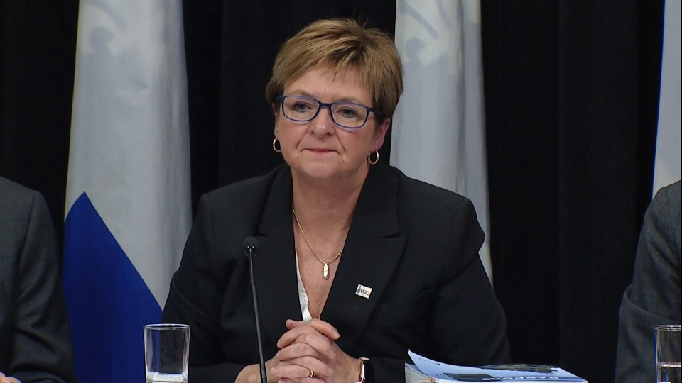 Quebec Auditor General Guylaine Leclerc