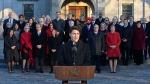 Prime Minister Trudeau unveils new cabinet