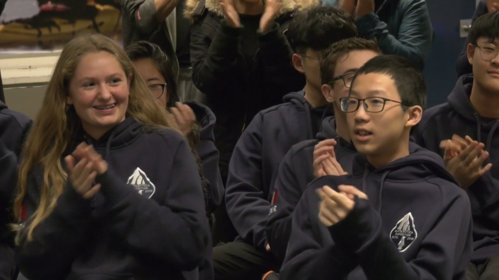 B.C. students headed to Antarctica after original tour company cancelled trip