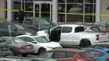 Man shot outside west-end gym