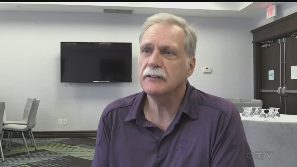 Retired OPP officer educates drivers on distracted driving