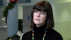 Chief Medical Officer Susan Shaw speaks to reporters Nov. 20, 2019.