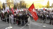Nurse rally