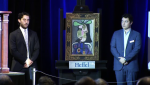 """Femme au chapeau"" by Picasso sold for $7.75 million at a Toronto auction Wednesday night."