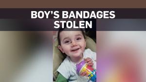 bandage boy