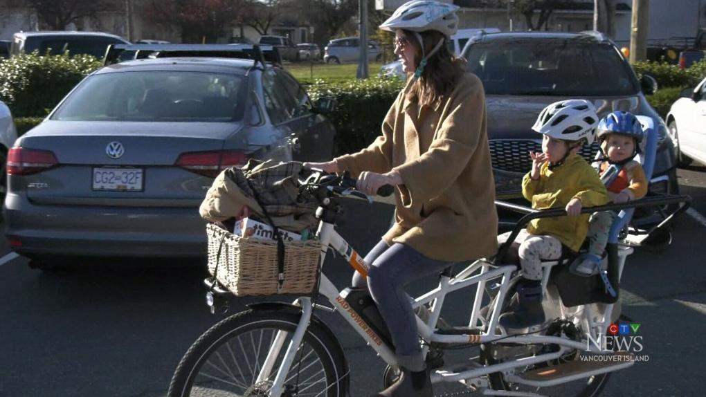 Drive-thru no-go: Tim Hortons wouldn't serve B.C. mother on an e-bike