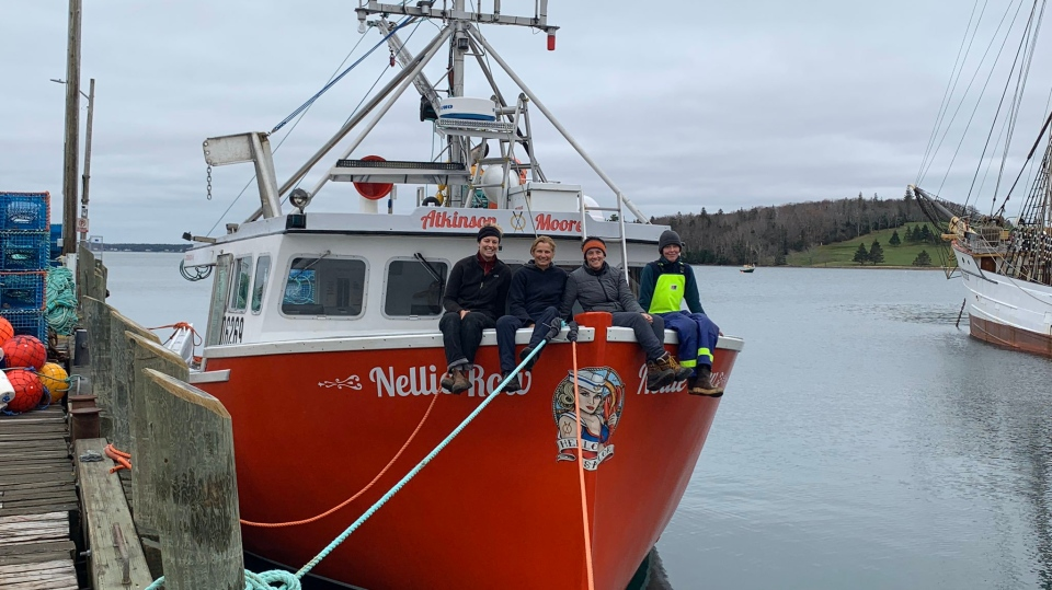 The Lunenurg-based Nellie Row boasts an all-female lobster fishing crew.