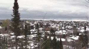 View of Timmins in winter. November 20, 2019. (Sergio Arangio/CTV Northern Ontario)