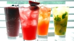 A variety of non-alcoholic drinks are displayed in Hamilton, Ont. on May 16, 2007. Police in Laval, Que. are teaming up with 24 bars on its territory to offer up free non-alcoholic drinks to designed drivers to prevent instances of drinking and driving. THE CANADIAN PRESS/Sheryl Nadler