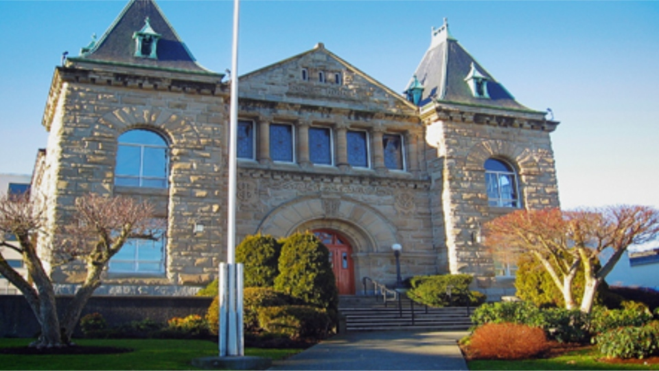 The Nanaimo provincial court house is pictured: (Courthouse Libraries BC)