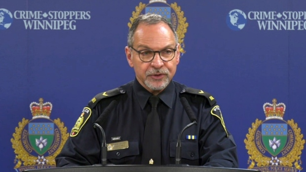 Boy, 15, charged after an unprovoked attack at a liquor mart. (Source: CTV News Winnipeg)