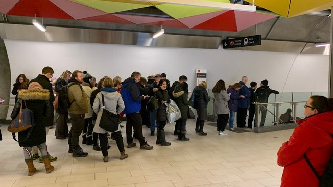 Major delays for LRT riders
