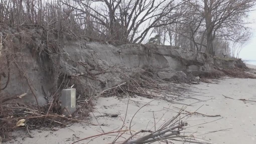 Communities along southern Georgian Bay deal with shoreline erosion