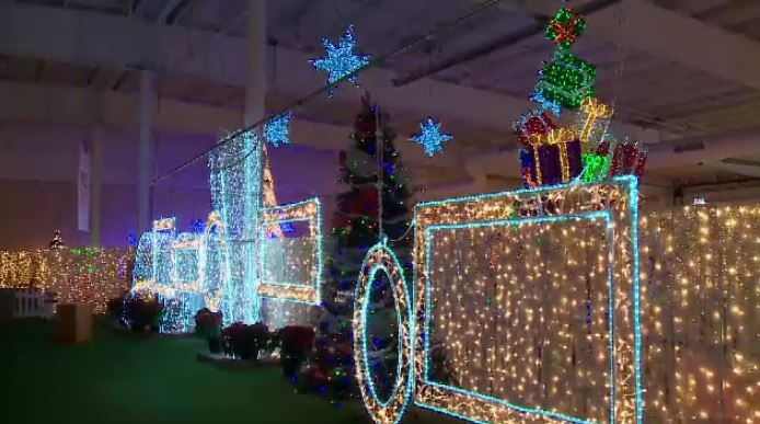 The Glow Gardens run at Prairieland Park through Dec. 28.