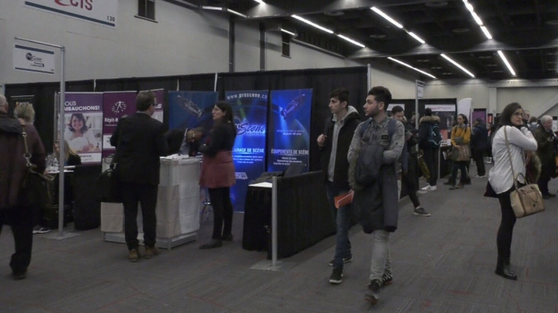 Job-seekers in control at Montreal career fair