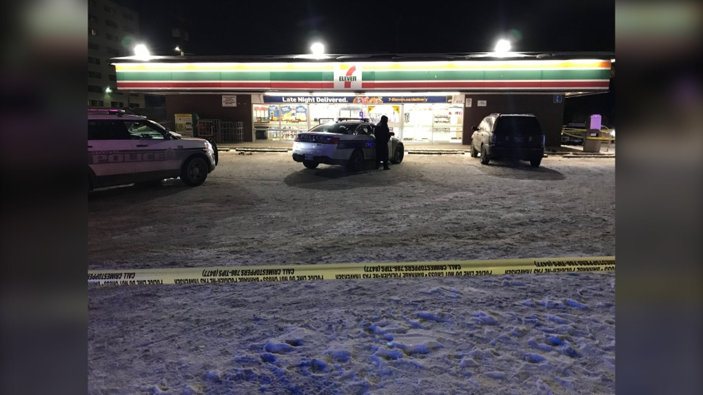 Winnipeg police shoot armed suspect after attempted robbery